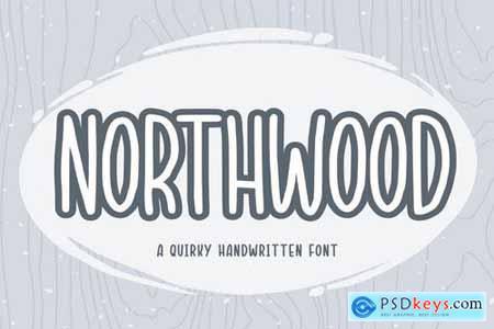 Northwood YH - Handwritten Font
