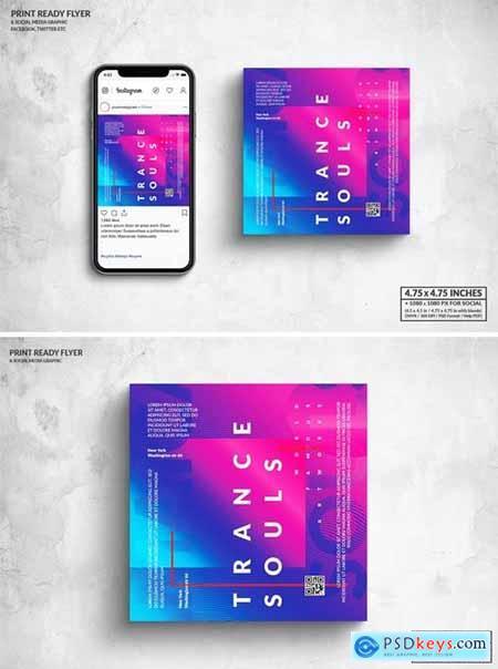 Event Square Flyer & Social Media Post Design 6JJJPTW