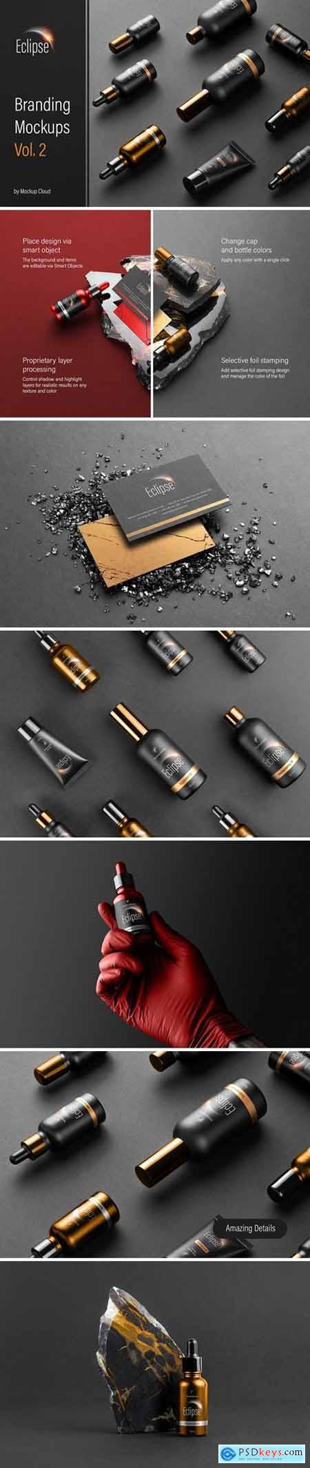 Eclipse – Cosmetics Branding Mockups Vol2