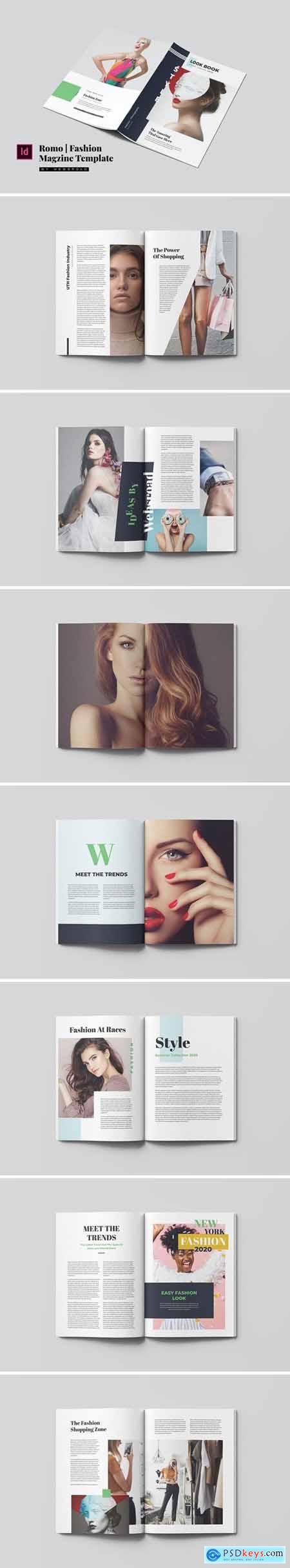 Romo - Fashion Magazine Template