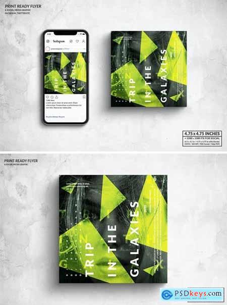Event Square Flyer & Social Media Post Design 3NTQWM9