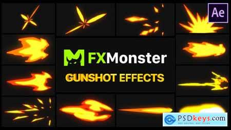 Gunshot Effects - After Effects 27490310