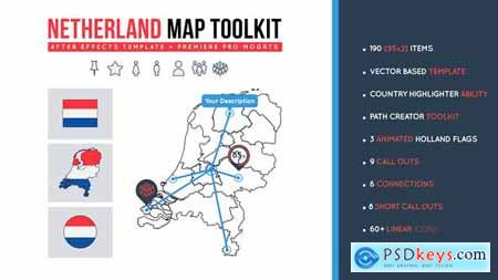 Netherland Map Toolkit 27491940