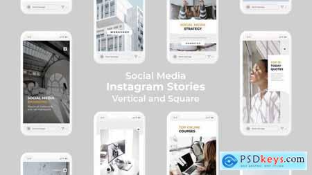 Social Media Instagram Stories - Vertical and Square 27501974
