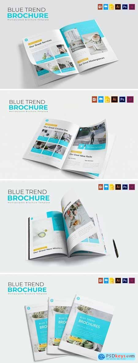 Blue Trend - Brochure Template