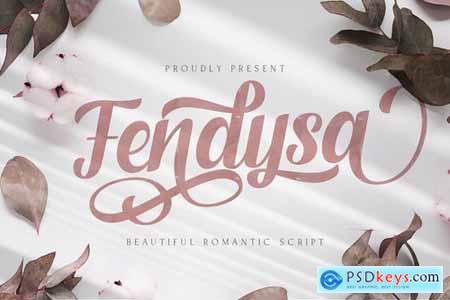 Fendysa - Calligraphy Font 5130063