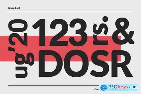 Grasp Typeface 5130126
