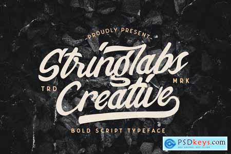 Stringlabs Creative Bold Script Font 5130043
