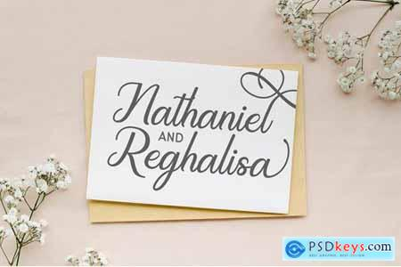 Regalhisa - Calligraphy Font 5129996