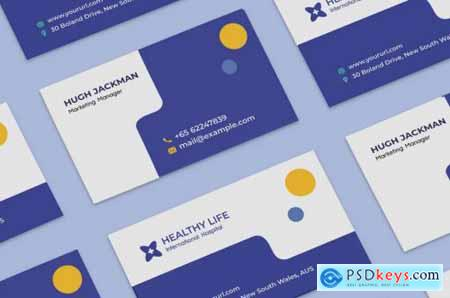 Medical healthy business card