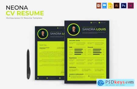 Neona - CV & Resume
