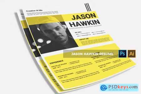 Jason Hawkin - CV & Resume