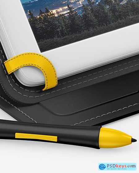 Graphics Tablet Mockup 62740