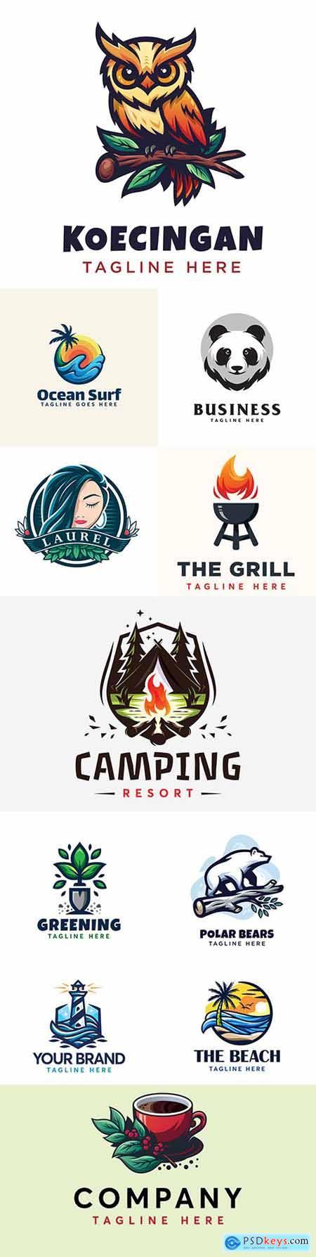 Brand name company logos business corporate design 20