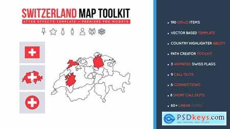 Switzerland Map Toolkit 27489635