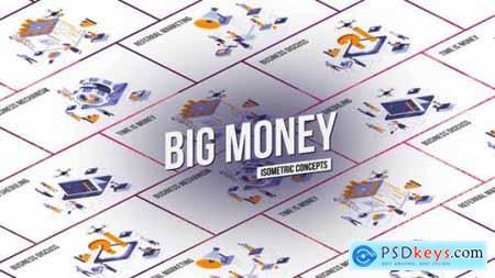 Big Money Isometric Concept 27458539