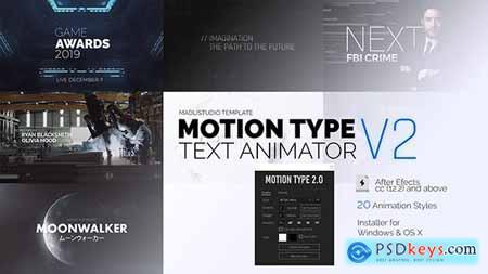 Motion Type 2 Text Animator V2 23144404