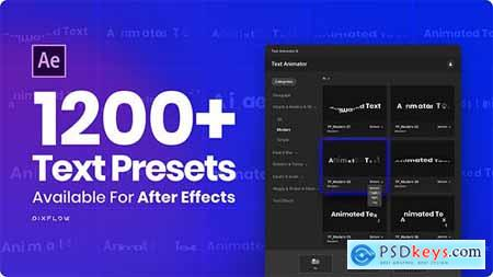 Text Animator One Click Text Presets 24165802