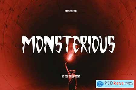 Monsterious - Scary Font
