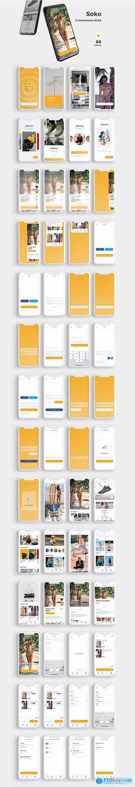 Soko E-Commerce UI Kit