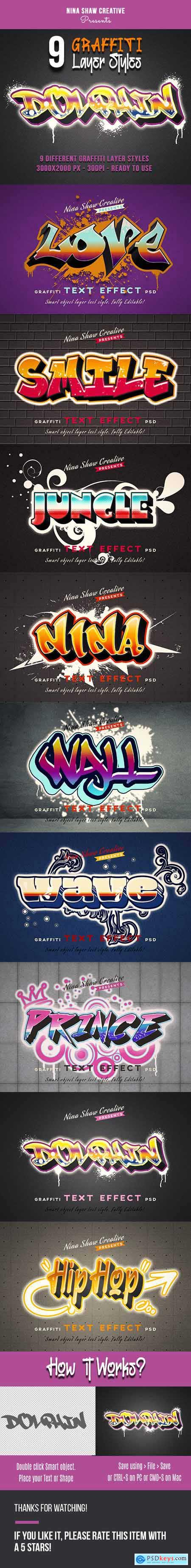 Graffiti Layer Styles 27270433