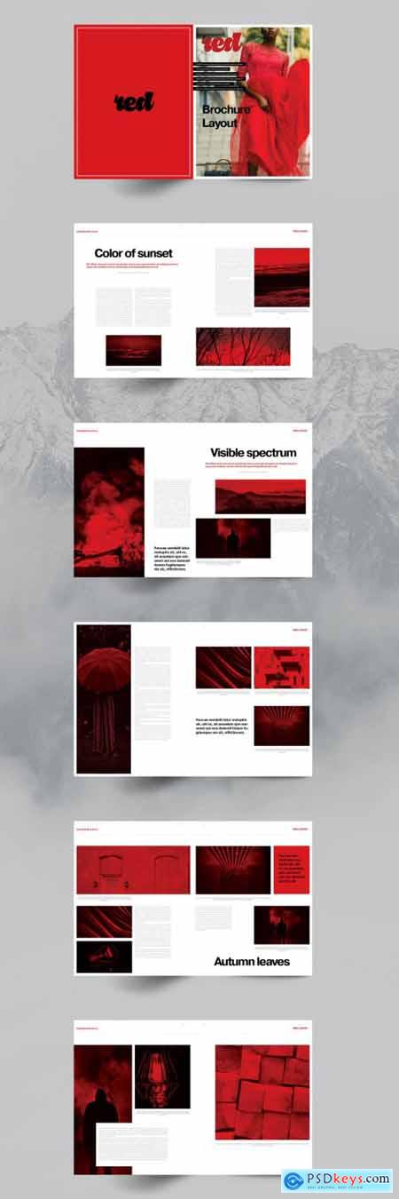 Red Brochure Layout 5150582