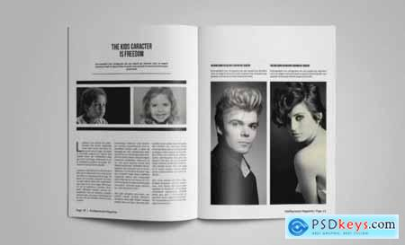 Stylish Magazine Template Vol 12