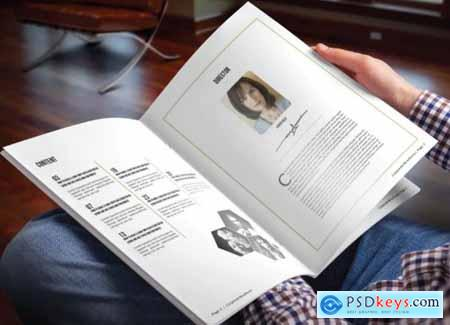 Simple Magazine Template Vol 13
