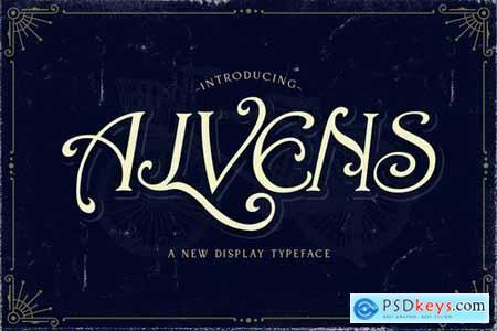 Alvens - Stylish Display Font