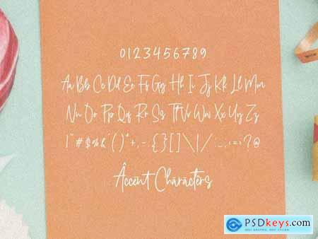 Candyreins YH - Monoline Script Font