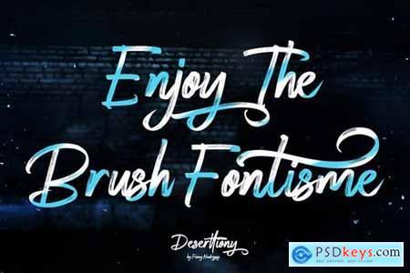 Deserttiony - Handwritten Font