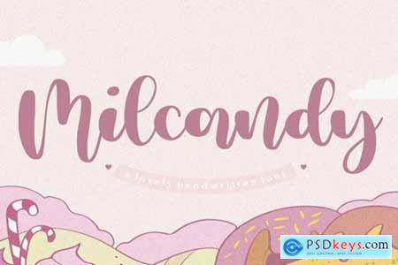 Milcandy YH - Modern Calligraphy Font