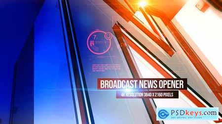 Broadcast News Opener 4K 26117860