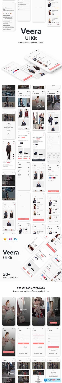 Veera E Commerce UI Kit