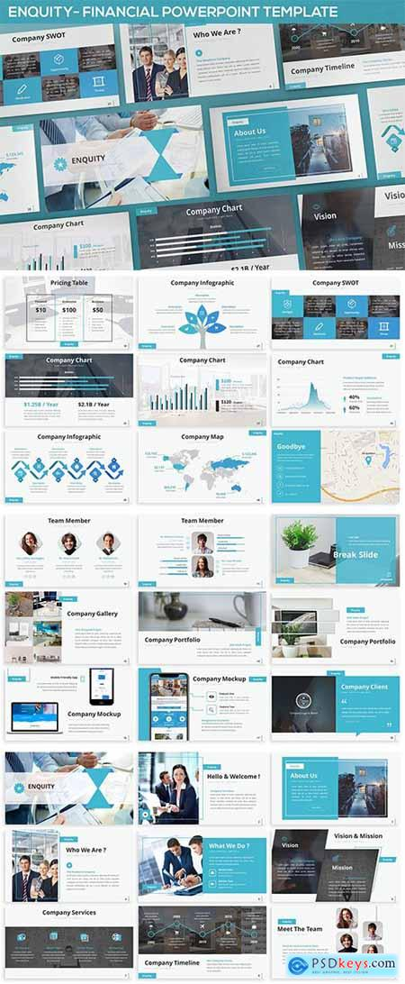 Enquity - Financial Powerpoint Template