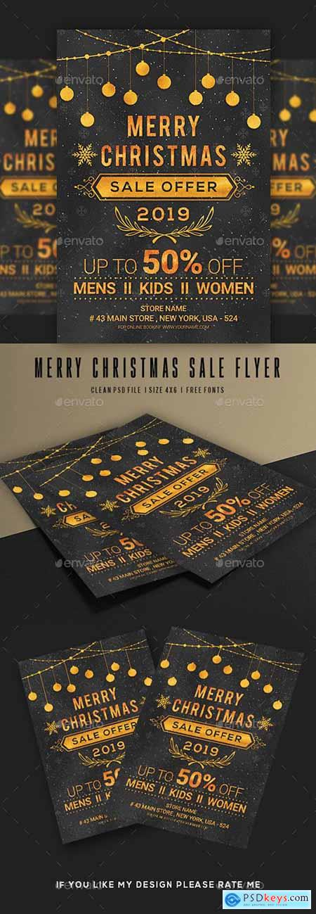 Merry Christmas Flyer 22855352