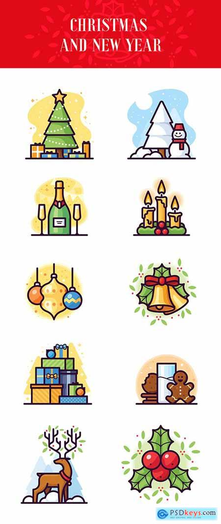 10 Christmas & New Year