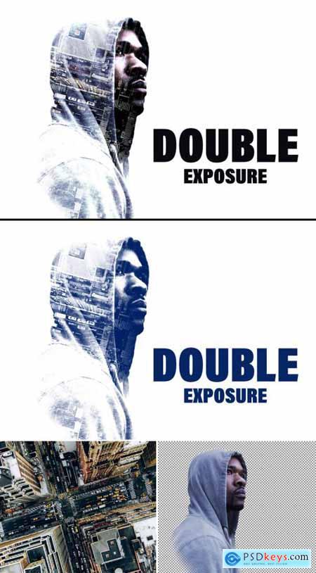 Double Exposure Photo Effect 362994260