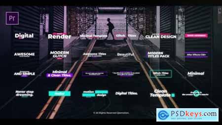 Digital Glitch Titles For Premiere Pro 25139414
