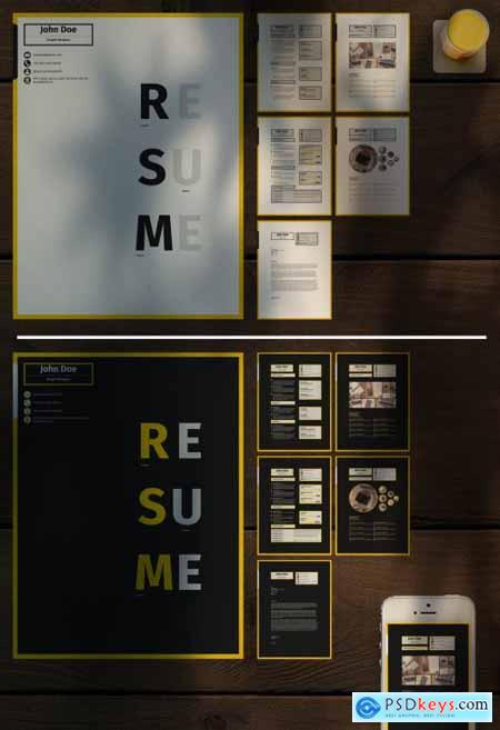 Digital Resume Layouts 363301465