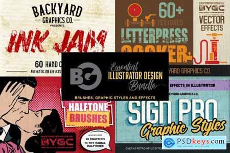 Essential Illustrator Design Bundle 4941833