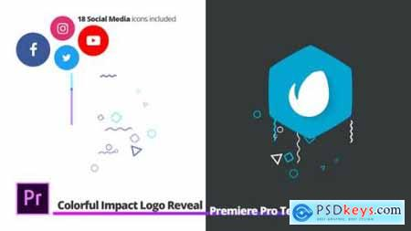 Colorful Impact Logo Reveal For Premiere Pro 27278510
