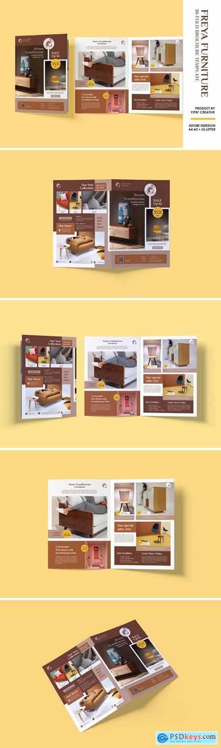 Furniture and Interior Bifold Brochure