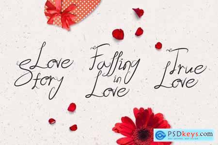 Lover - Romantic Valentine Script
