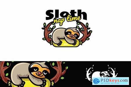 Sloth Naps - Mascot & Esport Logo