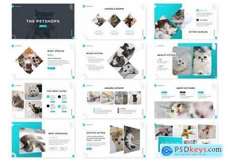 Petshops - Powerpoint Google Slides and Keynote Templates