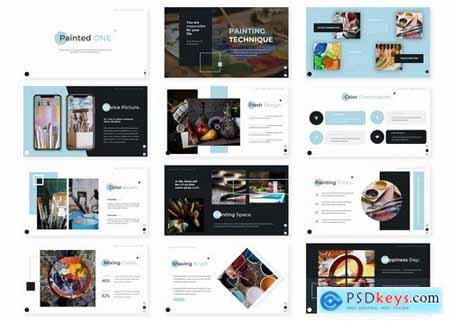 Painted - Powerpoint Google Slides and Keynote Templates