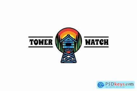 Tower Watch - Mascot & Esport Logo