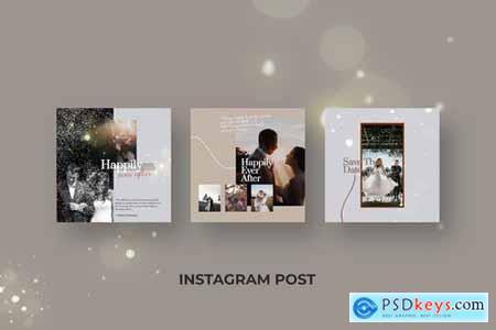 Wedding Photography - Instagram Post Template