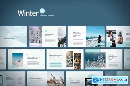 Winter - Powerpoint Google Slides and Keynote Templates